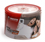 ON OFFER ! 50 FORTIS Branded Blank DVD-R 16x 4.7GB 120 minutes discs